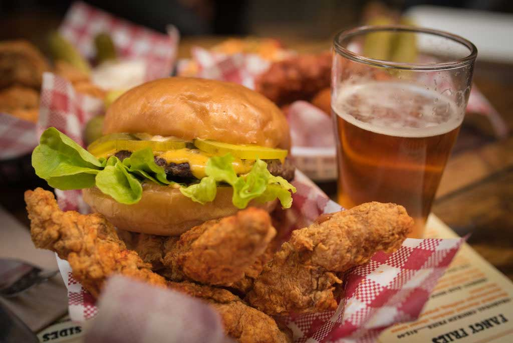 leonards house of love burger fried chicken