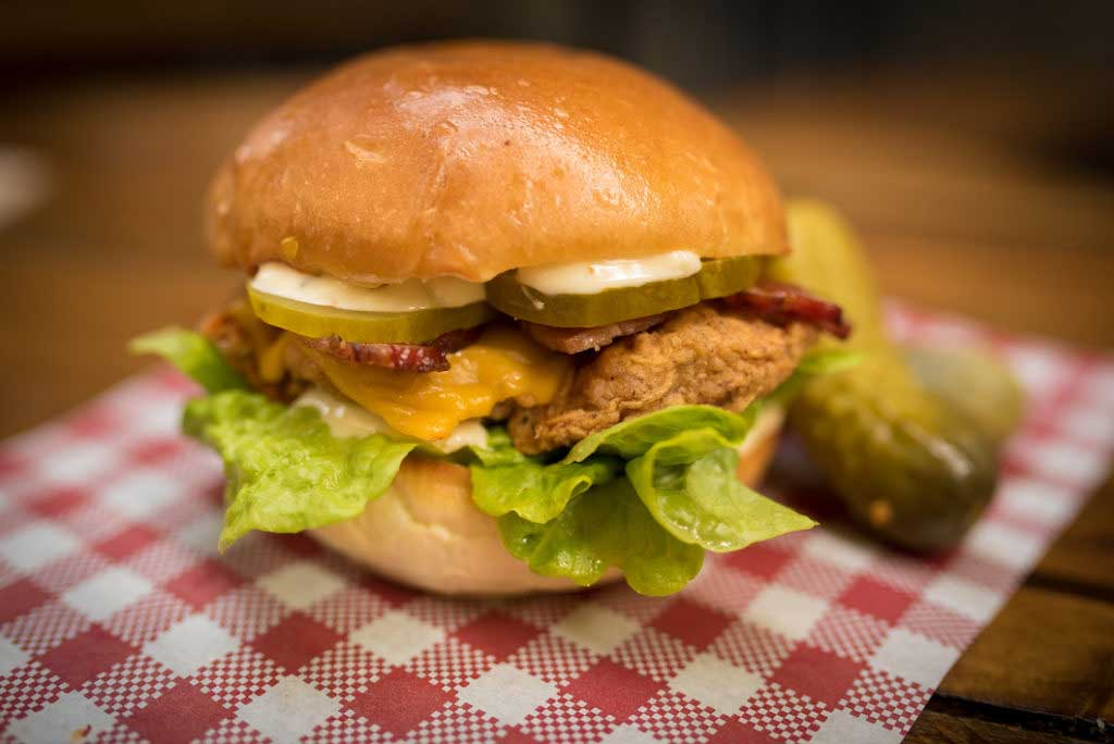 leonards house of love southside fried chicken burger